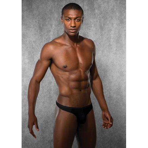 Mens G-string - Black