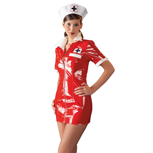 Nurse outfit Red