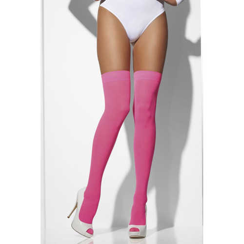 Opaque Hold-Ups Neon Pink
