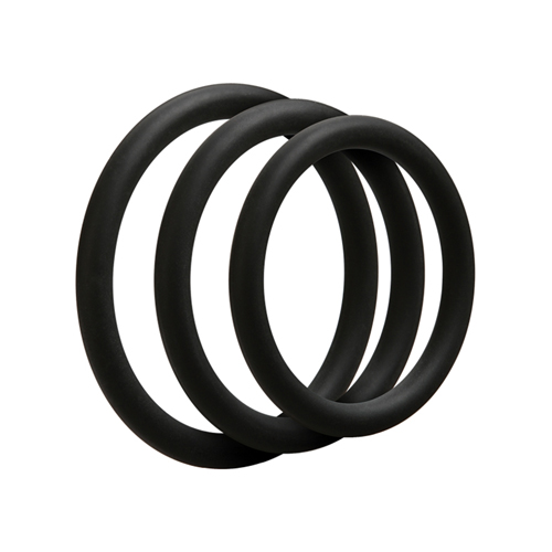 3 C-Ring Set - Thin - Black