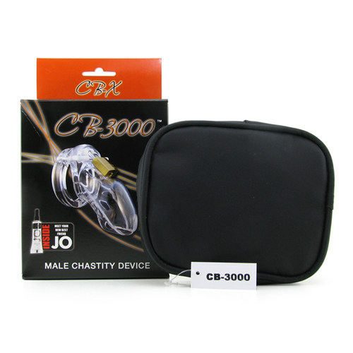 CB-3000 Chastity Cage - Clear - 37 mm6