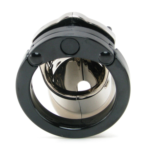 CB-6000 Chastity Cage - Chrome - 35 mm3