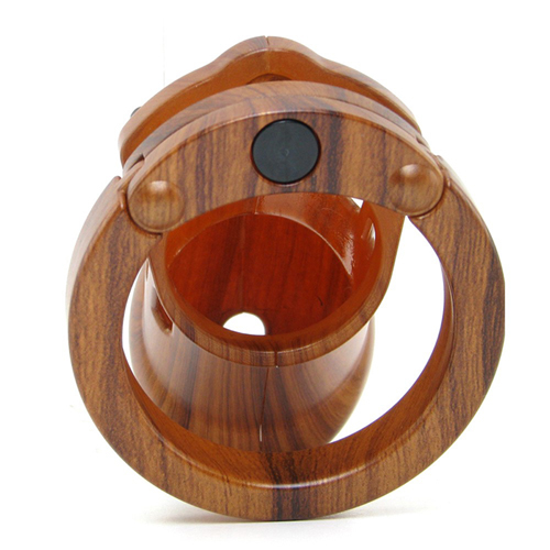 CB-6000 Chastity Cage - Wood - 35 mm4