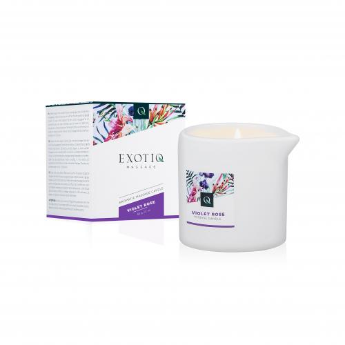 Exotiq Massage Candle Violet Rose - 60g