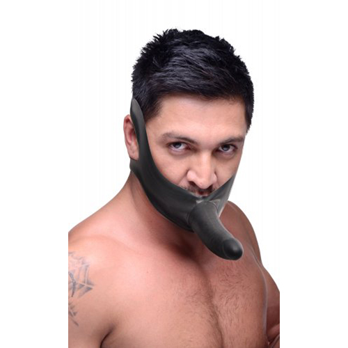 Face Fuck Strap On Mouth Gag3