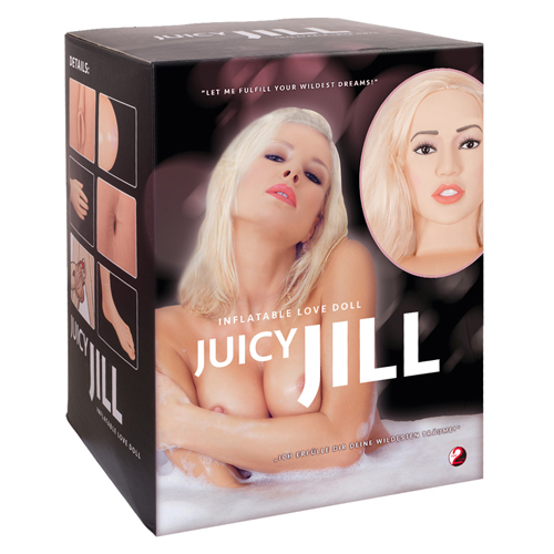 Juicy Jill Blonde Inflatable Doll
