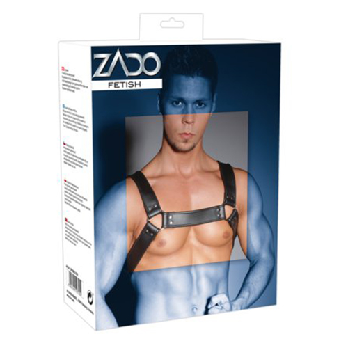Leather Chest Harness4