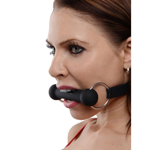 Mr. Ed Lockable Silicone Horse Bit Gag3