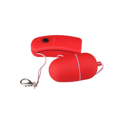 Red vibro bullet with remote control3