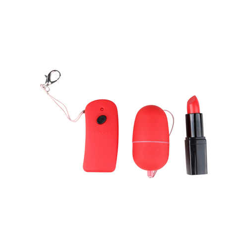 Red vibro bullet with remote control4