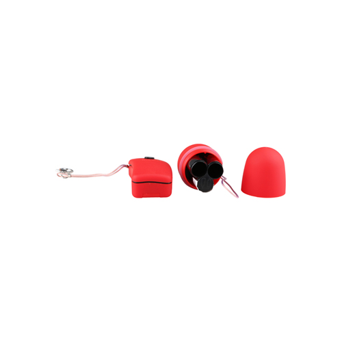 Red vibro bullet with remote control6