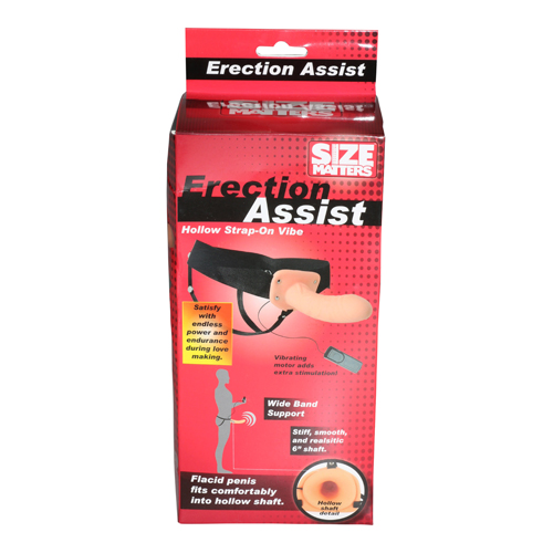 Size Matters Erection Assist Hollow Strap-On Vibe6