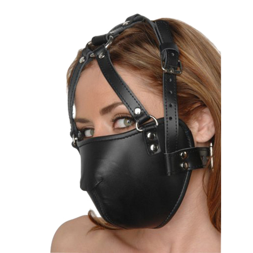 Strict Leather Face Harness2