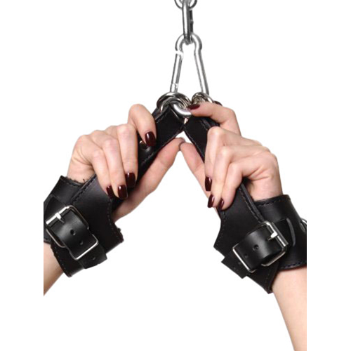 Strict Leather Fleece Lined Suspension Cuffs2