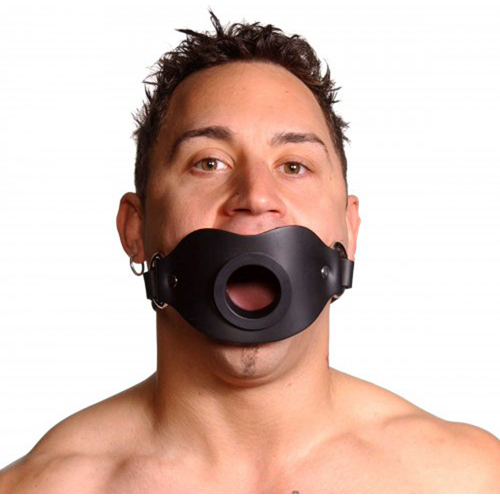 Strict Leather Locking Open Mouth Gag4