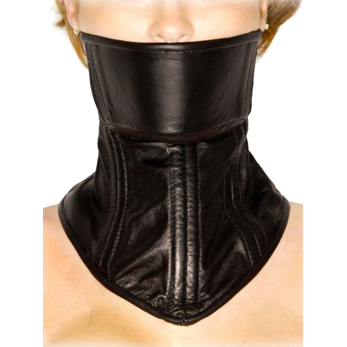 Strict Leather Neck Corset2