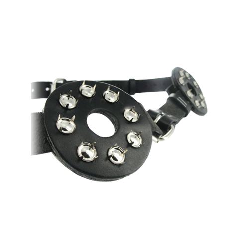Studded Spiked Breast Binder with Nipple Holes2