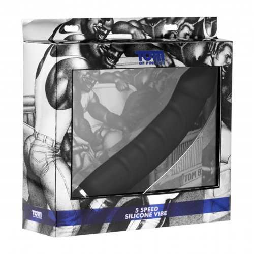 Tom Of Finland 5 Speed Silicone P-spot vibe3
