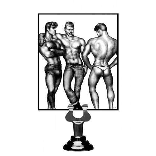 Tom of Finland 3 Piece Silicone Cock Ring Set3