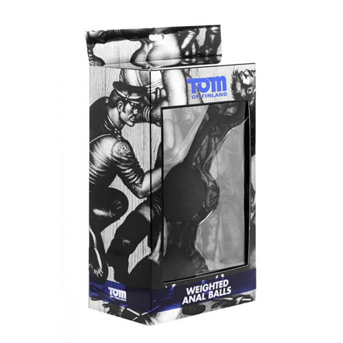 Tom of Finland Weighted Anal Balls3