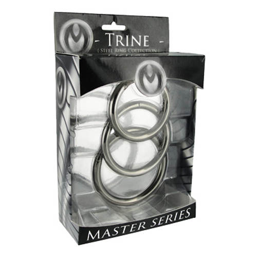 Trine Steel Ring Collection2
